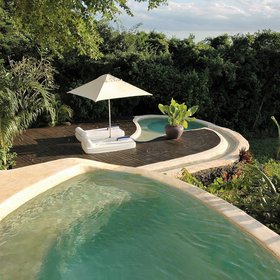 ...and each comes with two private plunge pools.