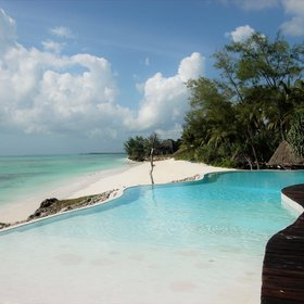 Pongwe Beach Hotel is another good choice - standing in its own small beach cove