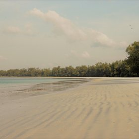 ... such as the pristine Vumawimbi beach in the north of the island....