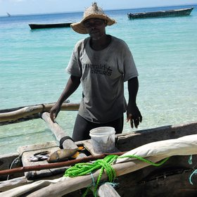 Many of the locals are also reliant on subsistence fishing...