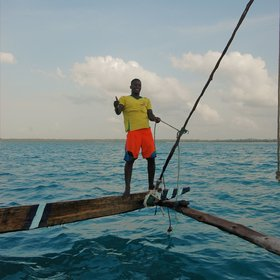... which are still used by locals for fishing trips.