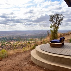 ... as well as luxurious Lemala Mpingo Ridge with its beautiful views ...