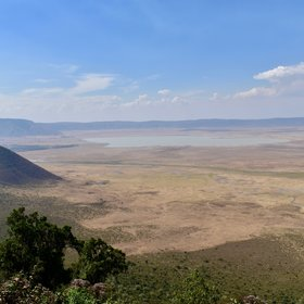 The Ngorongoro Crater is world-famous for its stunning scenery and concentration of wildlife.