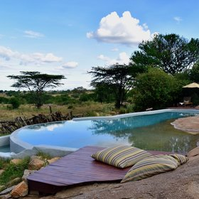Accommodation in the Serengeti can vary from luxury lodge...