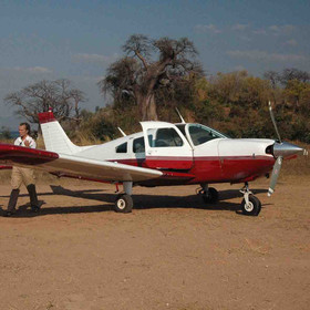 The only way to get to Likoma Island is to fly. There are daily flights from the mainland.