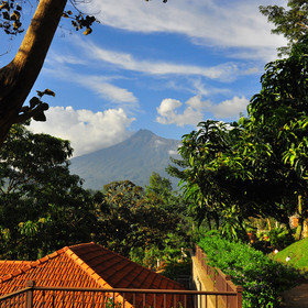 Arusha is a bustling, but still lovely town standing at the foothills of Mount Meru.