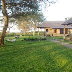Enjoy the quirky and unique Hatari Lodge, located on the northern edge of Arusha National Park.