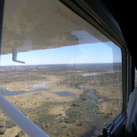 Camps in the most remote areas are accessible by light aircraft.