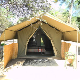 ...or enjoy a basic camping holiday at Goliath Camp...