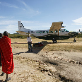 Expert Africa's Kenya safaris are based on local flights to areas like the Maasai Mara…