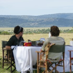 …which might end with a bush breakfast (Siana Ranch).