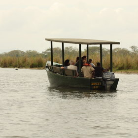 a good spot for boat safaris.