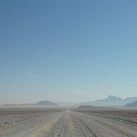 ...including the roads in the NamibRand...