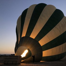 Balloon Safari over Ruaha