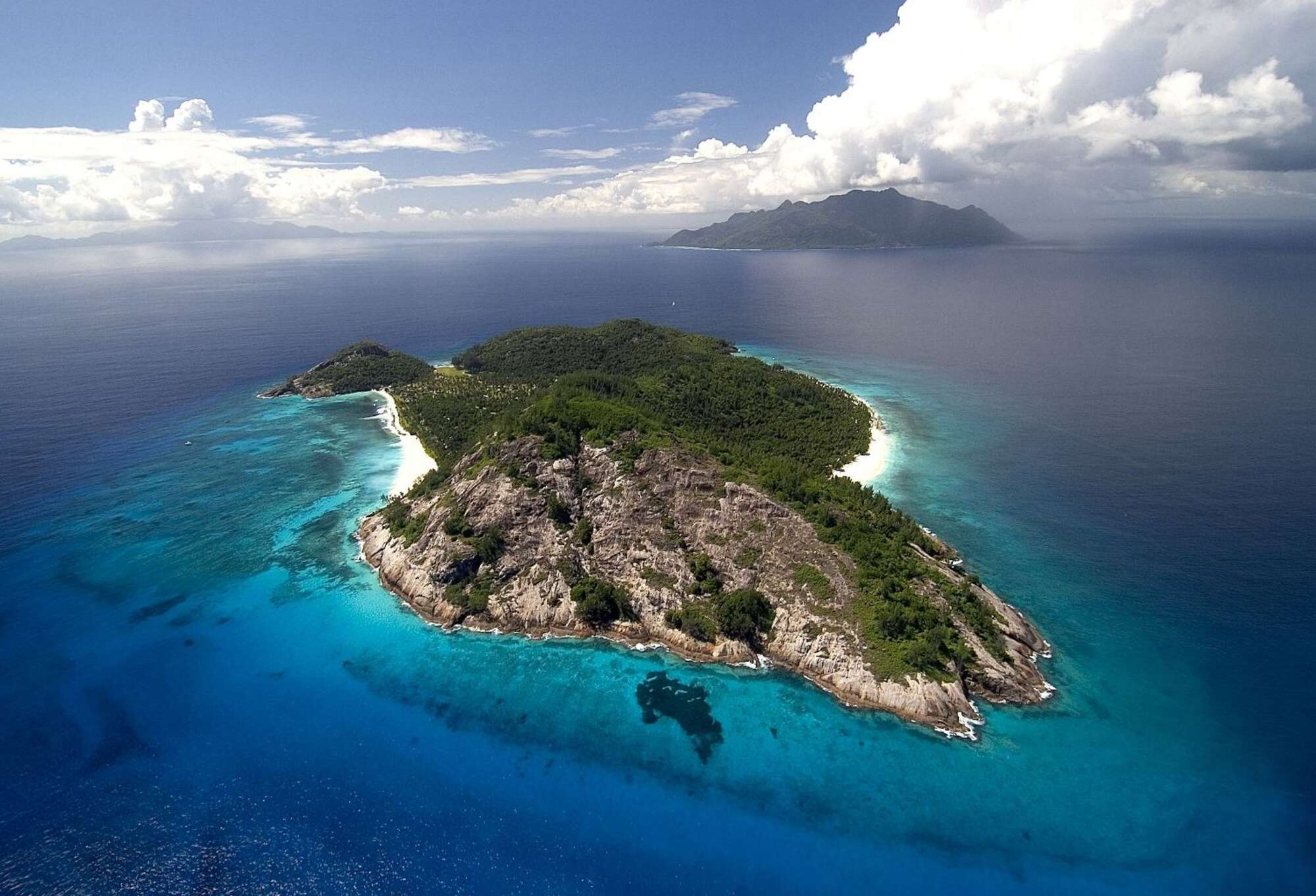 The ultimate beach holiday - North Island - Seychelles.