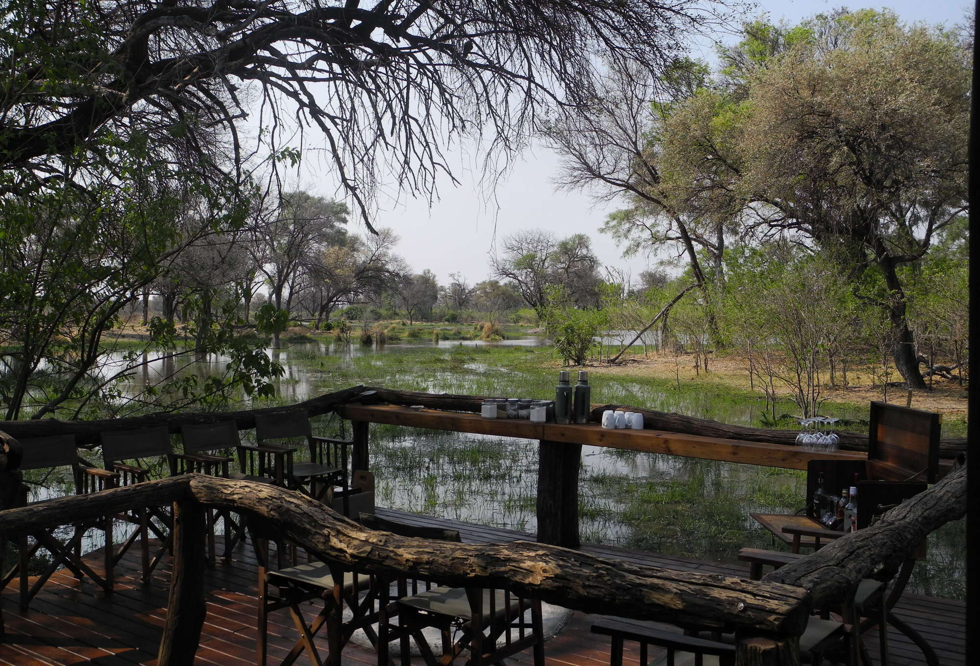 Good value Botswana safari – exploring the diverse Khwai area and wildlife rich northern Moremi from Khwai Tented Camp, and the Linyanti Reserve from Linyanti Bush Camp.