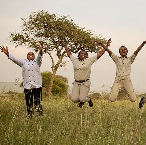 The only all-female run camp in the Serengeti