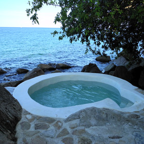 Some have their own plunge pools …