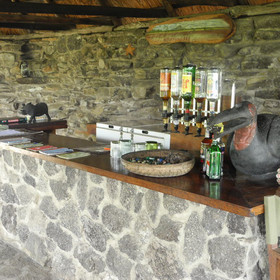 The central facilities include a separate bar…