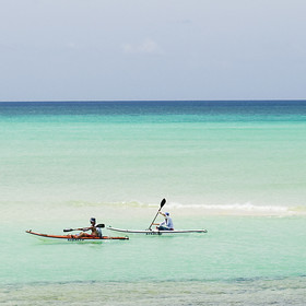 Complimentary activities include sea kayaking, village visits, snorkelling and beach picnics.
