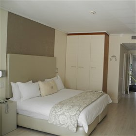 All rooms are spacious and come with a double bed ...