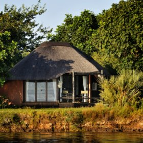There are 12 luxurious bungalows...
