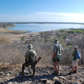 The Selous is a stunning area for walking.