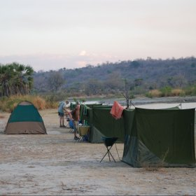 For something a little more adventurous, try a night or two of fly-camping while at Sand Rivers.