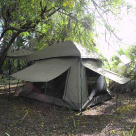The tents are simple yet very comfortable...