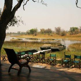 Motswiri Camp is situated on the banks of the Selinda Spillway in the far western corner of Botswana
