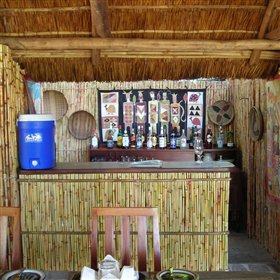 There is also a well-stocked bar offering tempting tipples served by a smiling barman.