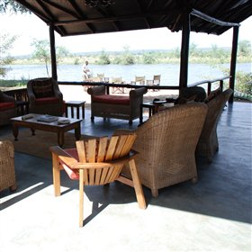 ... allowing guests the chance to admire the scenic riverine landscape...