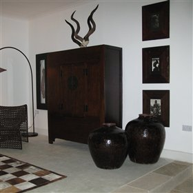 Stylish art and natural materials can be found in most corners of the hotel creating a chic feel
