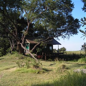 Shinde Camp is situated in the heart of the Okavango Delta.