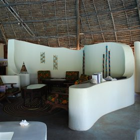 ...a cool lounge to escape the midday heat...