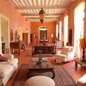 It is a beautifully furnished hotel, with numerous antiques and hand made furniture.