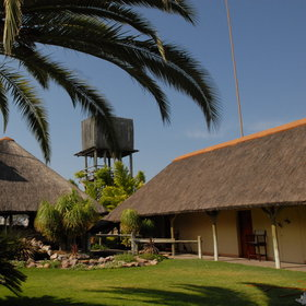 Frans Indongo is used as a stopover on the way to or from Etosha...