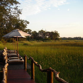 ...offering numerous places to relax and enjoy the view over the permanent floodplain