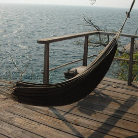 and a hammock - a lovely spot to relax.