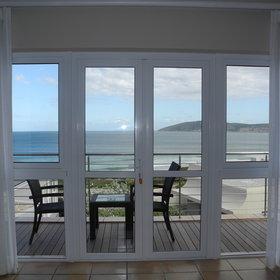 Private decks allow the guests more of that beautiful sea view.