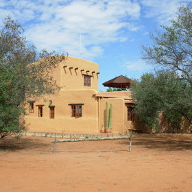 Eningu Clayhouse Lodge is located in Southern Namibia...