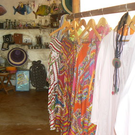 It is difficult to resist raiding the colourful shop, especially as you sadly check out.