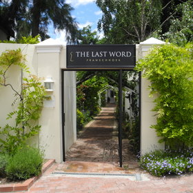 The Last Word Franshoek is located in the heart of the Cape's Winelands in South Africa.