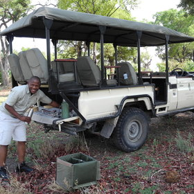 Activities focus mainly on game drives, and seasonal mokoro trips are also offered.