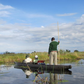 ...and mokoro trips that explore the idyllic waterways, where...