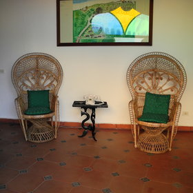 All of the suites are furnished with tasteful Zanzibari antiques.
