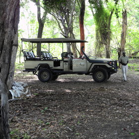 The camp also has vehicle which is used to track predators if they are heard…