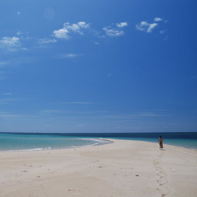Ibo offers outstanding views of the beaches and corals.