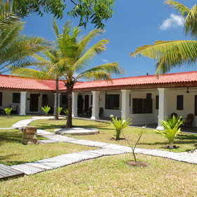 Ibo Island Lodge consists of 3 rehabilitated grand old houses, all overlooking the sea.