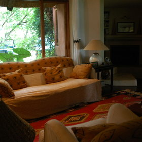 Tangala House is beautifully decorated and has some nice lounge areas...